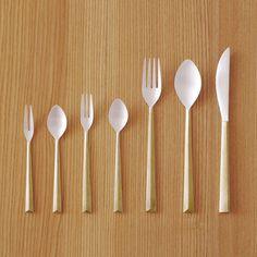 Cast Cutlery by Oji & Design #cutlery #minimalist #design