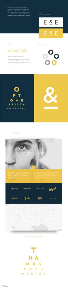 Edney & Edney branding and web design, by Redspa http://redspa.uk