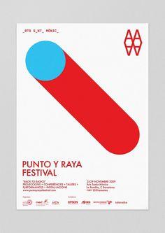 Forma & Co — Punto y Raya Festival #formaco #punto #festival #santa #raya #mnica #arts #barcelona #poster