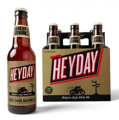 Great Divide Heyday | Oh Beautiful Beer #packaging #beer #label #bottle