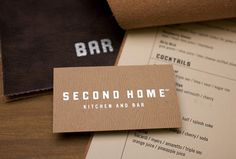 Second Home #menu #of #home #second #woodgrain #wood #the #art