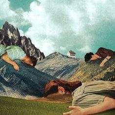Julien Pacaud • Illustration • Perpendicular Dreams #illustration #art