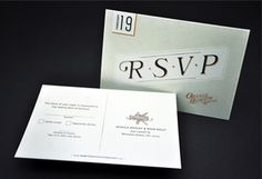 Our Papers Explained « Mama's Sauce #invitation #classic #rsvp #collateral #numbers #postcard