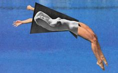 Dimitri Daniloff #art #photography #sculpture #collage #olympics #mixed media #athletes