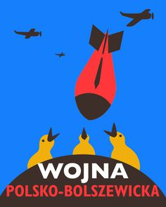 Magoz illustration. Poster homage to polish-soviet war.