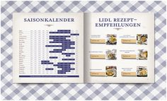 Lidl Cookbook on the Behance Network #designbureau #24 #editorial #austria