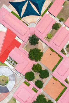 pink roof abstract | mark merton