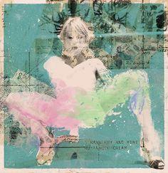 Cream - numanhoid #cruz #alfonso #numanhoid #painting #collage