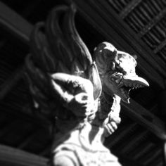 The Smiling Expression #gallery #infected #statue #demon #photography #and #dark #light