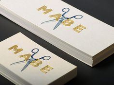 Mabe Print Work #gold #mabe #scissors #foil