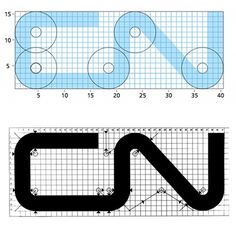 CN Logo Designed by Allan Fleming & CN Brand Guidelines #mark #allan #identity #logo #fleming
