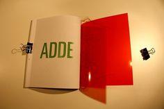 Gagarin Addendum on the Behance Network #binding #plastic #book