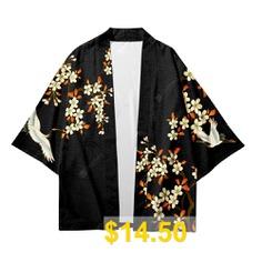 V00018 #Men #Fashion #Printed #Kimono #Cardigan