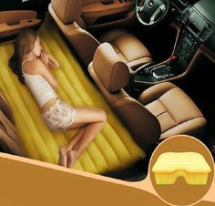 Fuloon Car Travel PVC Inflatable Bed #gagdet