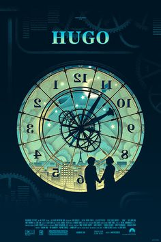 Hugo Movie poster #illustration #hugo #poster #film