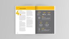 Annual Report design spread 4