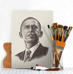 Barack Obama #president #people #barack #art #usa #awesome #obama