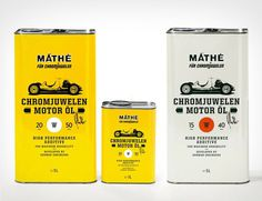 chromjuwelen-motor-oil #package #label #typography