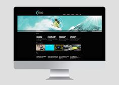 Actio #snowboarding #webdesign #sports #branding