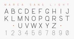 Marea: A Marine Typography « daniel cbs #serif #sans #marea #type #danielcbs
