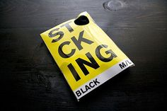Merde! - ffffffound: Inspiration in Yellow: The FYC... #design #package