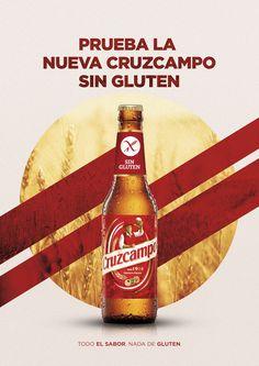 Cruzcampo Beer Sin Gluten on Behance