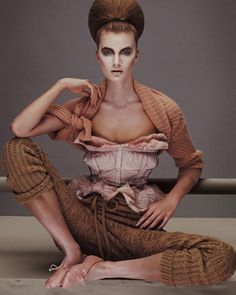 Various Models by Andrew Yee for How To Spend It #fashion #model #photography #girl