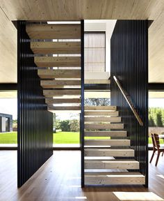 Piersons Way by Bates Masi Architects - stairs, staircase, architecture, interior design, home #design, #stairs