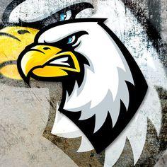 Eagle mascot #eagle