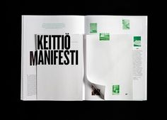 Arttu Magazine on the Behance Network #design #editorial #typography
