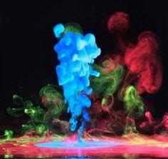 Aqueous Electreau | The Design Ark #electreau #ink #photography #aqueous #colour #underwater