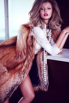 Kristina Romanova by Diego Uchitel for Vogue Mexico #fashion #model #photography #girl