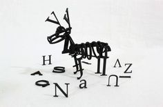 jiraffe #wsa #sculpture #design #graphic #typography