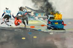 Oil Paintings by Joram Roukes #illustration #art #paintings