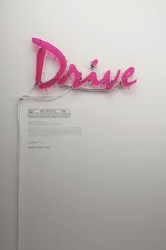 B&U #drive #light #poster