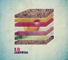 Facebook #design #graphic #colours #sandwish #art