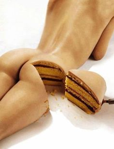 http://off-the-wall-b.tumblr.com/ #cake #woman #lady