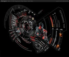Avengers - jayse #motion #interface #digital #art #film #graphics #technology