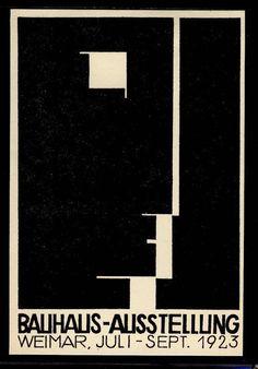 gladtoknowcha:nnnHerbert Bayer, Bauhaus no.12nn #bauhaus #weimar #1923 #ausstelling #herbet bayer #cover bayer