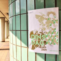 #screenprint #gezeever #poster #zeefdruk #printjam #antwerp