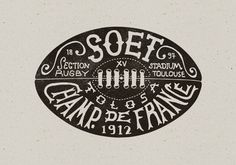 http://www.bmddesign.fr/stade_toulousain/section_rugby9.jpg #illustration #type #hand lettering #rugby