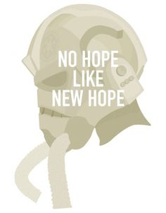 ANONYMOUS MAG #hope #new #helmet #fighter #wars #imperial #tie #illustration #star #typography