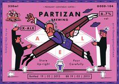 Partizan Brewing   X Ale G000 104