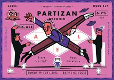 Partizan Brewing X Ale G000 104 #brewery #partizan