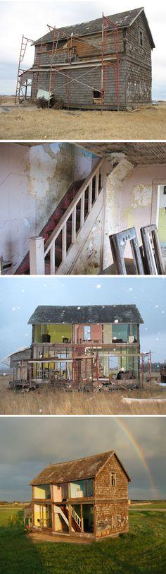 Heather Benning #architecture #dollhouse #art #benning #heather