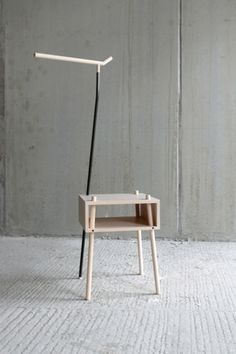 Kirin | Stilsucht #interior #storage #design #table #coathanger