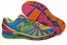 Womens new balance MR890RGO Green rainbow running Sneakers