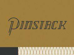 Drib #dribbble #lettering #pinstack #hill #logo #gold #scott
