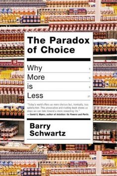 The Paradox of Choice #cover #editorial #book
