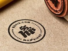 Dribbble - Stamp! by 55 Hi's #logo #icon #seal #stamp #circle